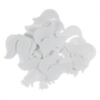 La Mia 25'Li Beyaz Sincap Keçe Motifler Fs302-M02