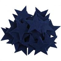 La Mia 25'Li Saks Mavi Yıldız Keçe Motifler - Fs304-M47