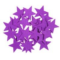 La Mia 25'Li Mor Yıldız Keçe Motifler - Fs304-M34