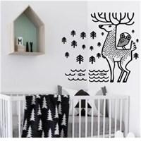 I Love My Wall Çocuk Odası (Kıds-104)Sticker(Baykuş Sticker Hediye!)