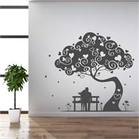 I Love My Wall Modern (Mdn-097)Sticker(Baykuş Sticker Hediye!)