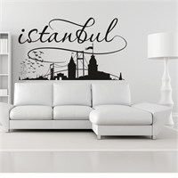 I Love My Wall Modern (Mdn-147)Sticker(Baykuş Sticker Hediye!)