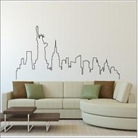 I Love My Wall Şehirler (Shr-208)Sticker(Baykuş Sticker Hediye!)