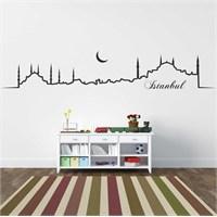 I Love My Wall Modern (Mdn-102)Sticker(Baykuş Sticker Hediye!)