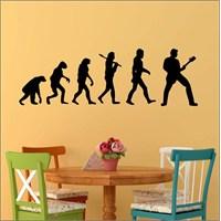 I Love My Wall Modern (Mdn-209)Sticker(Baykuş Sticker Hediye!)