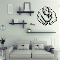 I Love My Wall Modern (Mdn-110)Sticker(Baykuş Sticker Hediye!)