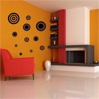 I Love My Wall Modern (Mdn-074)Sticker(Baykuş Sticker Hediye!)