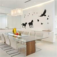 I Love My Wall Modern (Mdn-077)Sticker(Baykuş Sticker Hediye!)