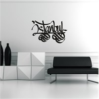 I Love My Wall Modern (Mdn-203)Sticker(Baykuş Sticker Hediye!)