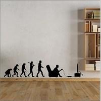 I Love My Wall Modern (Mdn-204)Sticker(Baykuş Sticker Hediye!)