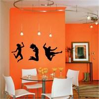 I Love My Wall Modern (Mdn-078)Sticker(Baykuş Sticker Hediye!)