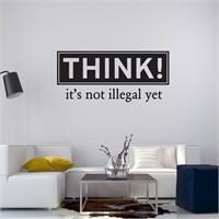 I Love My Wall Konuşan Duvarlar (Kd-305)Sticker(Baykuş Sticker Hediye!)