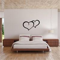 I Love My Wall Floral (F-317)Sticker(Baykuş Sticker Hediye!)