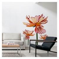 Artikel Blush Flower Dev Duvar Sticker Dp-1456