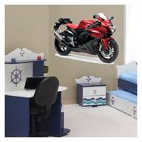 Artikel Motorcycle-4 Dev Duvar Sticker Dp-1467