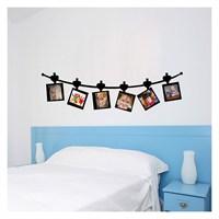 Lovely Family-2 Kadife Duvar Sticker 48X170 Cm