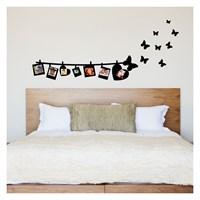 Artikel Love Family-3 Kadife Duvar Sticker Dp-803 ve Tuz boyama