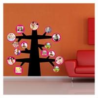 Artikel Apple Tree Kadife Duvar Sticker Dp-804 ve Tuz boyama