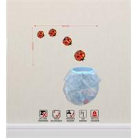 Tüyball Yapışkanlı Çöp Kovası Dekortif