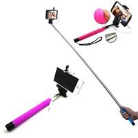 Gift Box Selfie Çubuğu Kablolu - Pembe