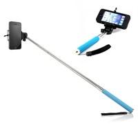 Gift Box Selfie Çubuğu Mavi