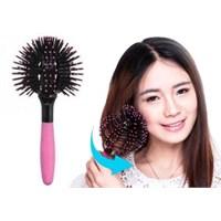 Gift Box Özel Tasarım Saç Dalgalandırıcı Fırça Bomb Curl