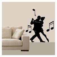 Tango Kadife Duvar Sticker