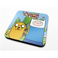 Pyramid International Bardak Altlığı - Adventure Time Finn & Jake