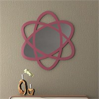 Eyibil Mobilya Elips Dekoratif Ayna 90X90 Cm