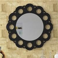 Eyibil Mobilya Çiçek Dekoratif Ayna 90X90 Cm