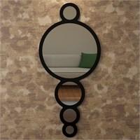 Eyibil Mobilya Halka Dekoratif Ayna 120X55 Cm