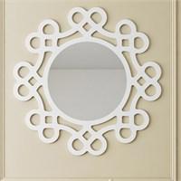 Eyibil Mobilya Kalpli Dekoratif Ayna 90X90 Cm