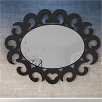 Eyibil Mobilya Elips Dekoratif Ayna 95X75 Cm