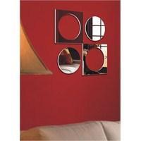 Kare Daireler Kesimli Geometrik Aynalar