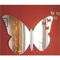 Papilion Dekoratif Ayna