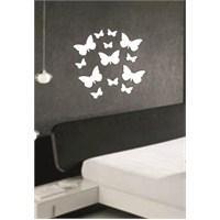 Kelebek Sürüsü Dekoratif Ayna