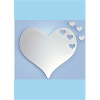 Hearts Dekoratif Ayna