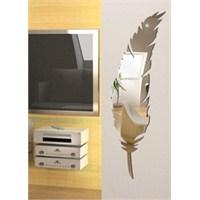 Kuş Tüyü Formu Kesimli Boy Aynası