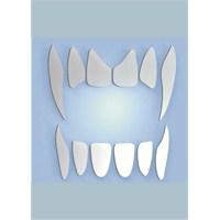 Vampir Dişleri Dekoratif Genç Odası Aynaları