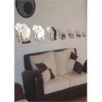 Uğurlu Filler 7 Adet Aynas