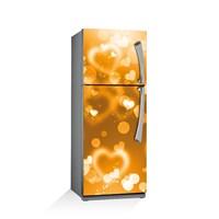 Artikel Işıltılı Kalp Buzdolabı Stickerı Bs-020