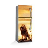 Artikel Aslan Kral Buzdolabı Stickerı Bs-026