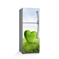 Artikel Yeşile Doğru Buzdolabı Stickerı Bs-077
