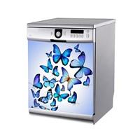 Artikel Mavi Kelebekler Bulaşık Makinası Stickerı Bs-130