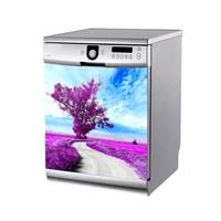 Artikel Lavanta Bahçesi Bulaşık Makinası Stickerı Bs-134
