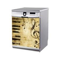 Artikel Müzikal Bulaşık Makinası Stickerı Bs-146