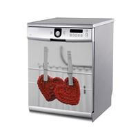 Artikel Şirin Kalpler Bulaşık Makinası Stickerı Bs-154