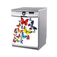 Artikel Uçuşan Kelebekler Bulaşık Makinası Stickerı Bs-162