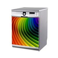 Artikel Renkli Çizgiler Bulaşık Makinası Stickerı Bs-163