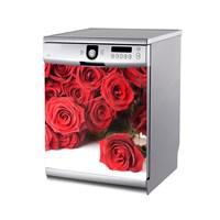 Artikel Gerçek Gül Bulaşık Makinası Stickerı Bs-167